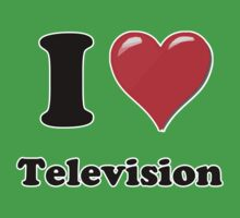 I Heart Television by HighDesign