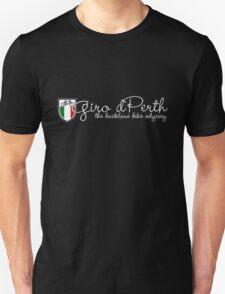 Giro d Perth white for black tee Unisex T-Shirt