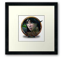 Ahri Cinematic - League of Legends Framed Print