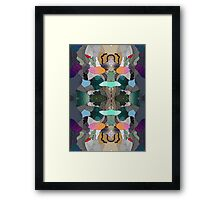 Abstraction Lined Framed Print