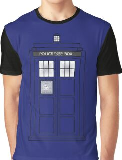 Telephone Box Graphic T-Shirt