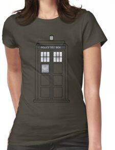 Telephone Box Womens Fitted T-Shirt