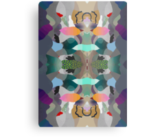 Abstraction Un-Lined Metal Print