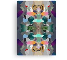 Abstraction Un-Lined Canvas Print
