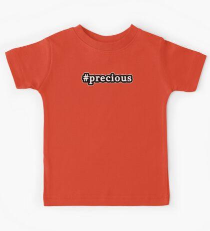 Precious - Hashtag - Black & White Kids Tee