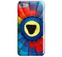 Hot Air Balloon Color Patterns iPhone Case/Skin