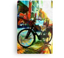 The Daily Commuter Metal Print