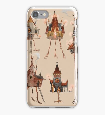 Baba Yaga Houses iPhone Case/Skin