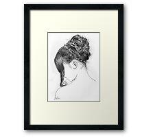 jane's reserve Framed Print