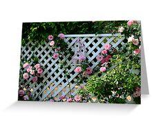 Rosalee Cottage Garden Greeting Card