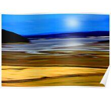 Scottish Highlands Landscape Poster