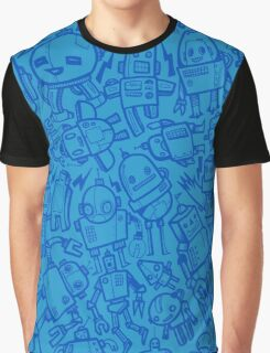 Lots of Robots Graphic T-Shirt