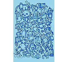 Lots of Robots Photographic Print