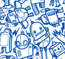 Lots of Robots Sticker