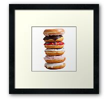 Stack of Donuts  Framed Print