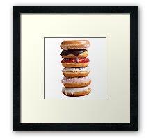 Stack of Donuts  Framed Print