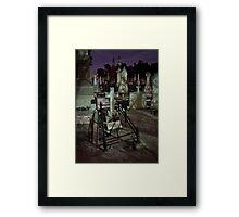Sunken Grave Framed Print