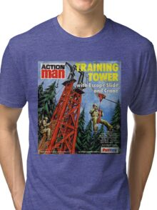 Action Man training tower Tri-blend T-Shirt