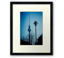 Berlin TV tower Framed Print