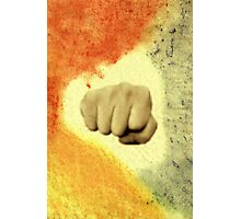 Fist Photographic Print