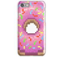 Pixel Pink Frosted Sprinkled Donut iPhone Case/Skin