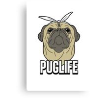 Puglife Canvas Print