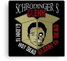 Schrodinger's Glenn Canvas Print