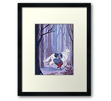 Luthien to the Rescue Framed Print
