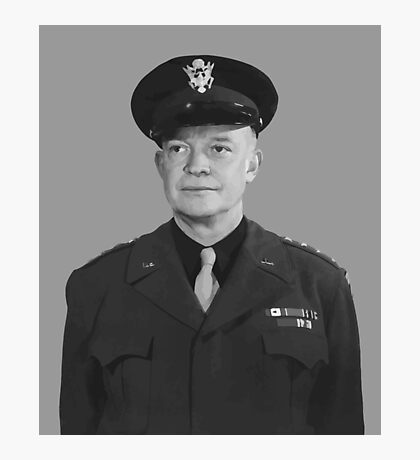 Dwight D. Eisenhower Photographic Print