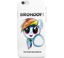 Brohoof iPhone Case/Skin
