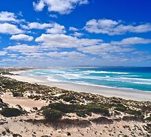 Gunyah Beach and Sand Dunes by Ian Berry