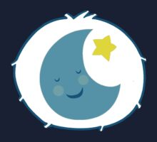 Bedtime Bear - Carebears - cartoon logo by NoirGraphic