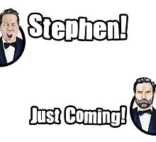Adam and Joe: Stephen Card! by StevePaulMyers