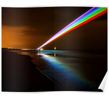 Global Rainbow - Whitley Bay Poster