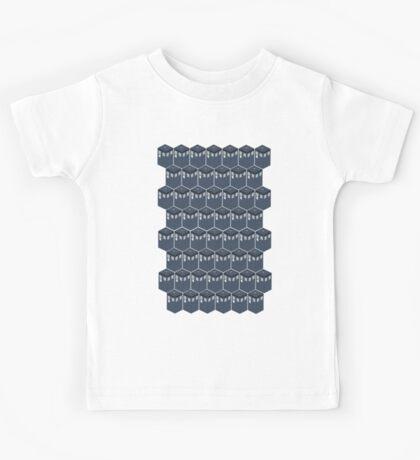 Timey-Wimey Tessellation Kids Tee
