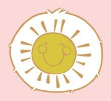 Funshine Bear - Carebears -Cartoon Logo  One Piece - Long Sleeve
