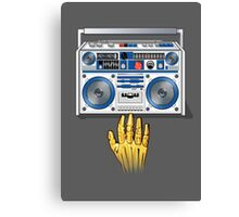 Retro Star Wars Boom box/Ghetto Blaster R2-D2 C-3PO Canvas Print