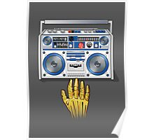 Retro Star Wars Boom box/Ghetto Blaster R2-D2 C-3PO Poster