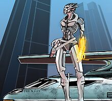 Turian Pirate by The-Librarian