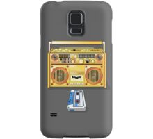Retro Star Wars Boom box/Ghetto Blaster R2-D2 C-3PO Samsung Galaxy Case/Skin