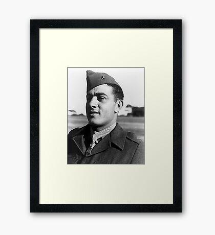 John Basilone Framed Print