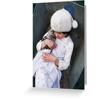 Innocence is Bliss Greeting Card