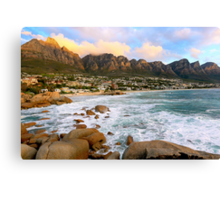 Camps Bay Sunset Canvas Print