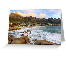 Camps Bay Sunset Greeting Card