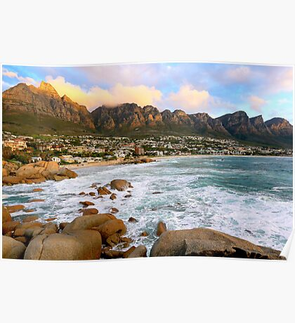 Camps Bay Sunset Poster