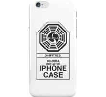 Dharma Initiative: Clean iPhone Case/Skin