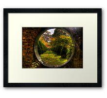 Wonderland - Bisley Gardens - Mt Wilson NSW Australia Framed Print