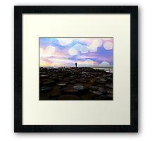 Causeway Dreamer Framed Print