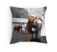 Northumberland Show 2012 Throw Pillow