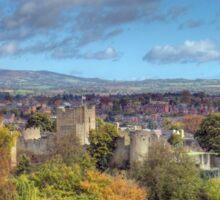 Ludlow, Shropshire Sticker